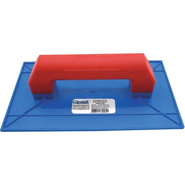 Desempenadeira Plástica Lisa 300 x08 - GIRALDI