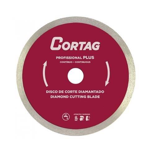 Disco de corte diamantado profissional Plus 180mm 8.450rpm - Cortag