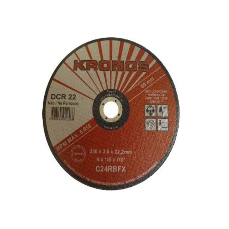 Disco De Corte Para Parede 07 X 1/8 X 7/8 - Kronos