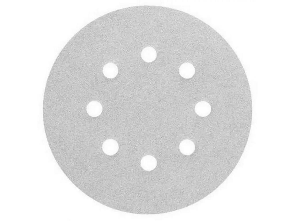 Disco De Lixa 125mm Velcro Branco Grão 80 - Starfer