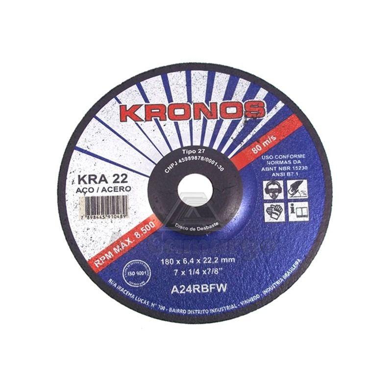 Disco de Desbaste em Aço 4.1/2 x 1/4 x 7/8 Pol.
