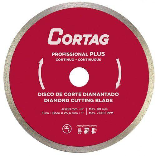 Disco Diamantado Profissional Plus 200 X 25,4 MM - Cortag