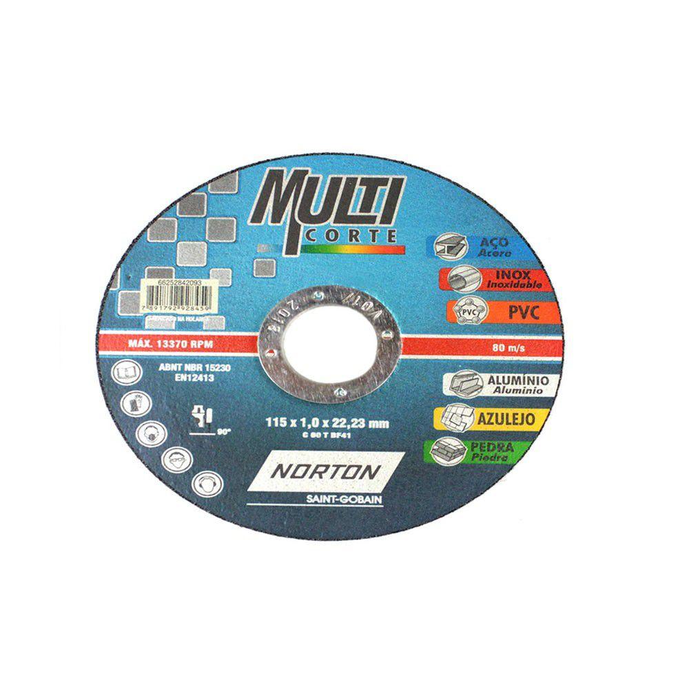 Disco Multicorte 4 1/2