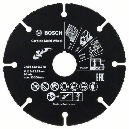 Disco para Esmerilhadeira Bosch, Multimaterial - 2608623012