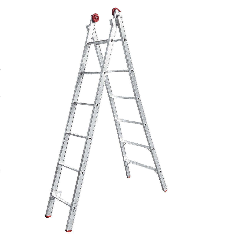 Escada 07D Aluminio Extensiva