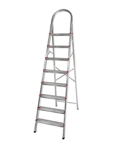 Escada 08D aluminio Domestica