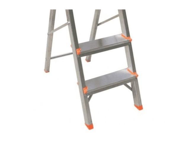 Escada Doméstica Alumínio 3 Degraus- Agata Escadas