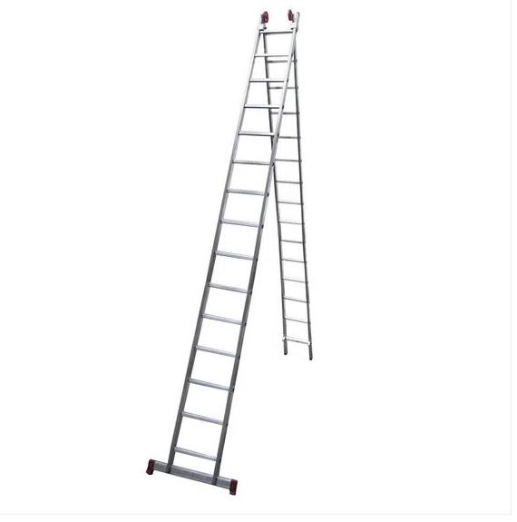Escada Alumínio Extensível 2 X 15 Degraus