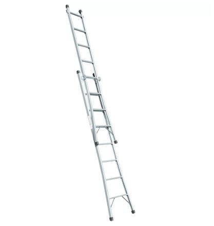 Escada Dose Dupla 8 Degraus 2,40 x 3,80 Metros Metalão