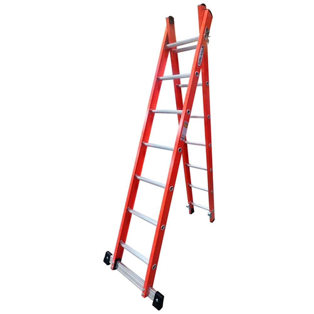 Escada tesoura extensiva 2,20x3,80m TEAF7X12 - Wbertolo