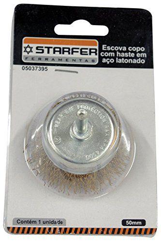 Escova Aço Copo Latonado Starfer