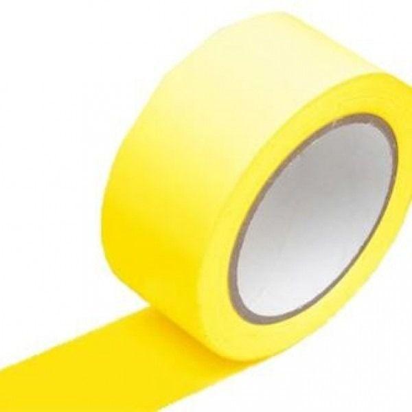 Fita Demarcação De Sólo Amarela 48mm X 14m