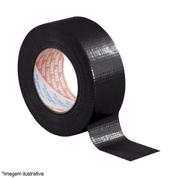 Fita Silver Tape Preta 48 MM X 05 MT - Adelbras