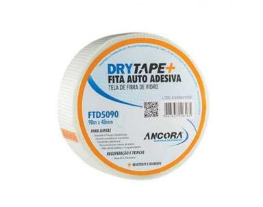 Fita Telada Drywall Trincas Parede Gesso 48 X 90m Adesiva
