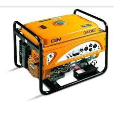 Gerador de Energia a Gasolina 8,5 Kva Gm 8000 E 110/220V