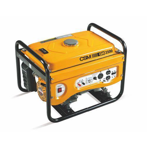 Gerador de Energia Portátil a Gasolina 4T 3,5 Kva 110/220V Partida Manual - CSM-40144402