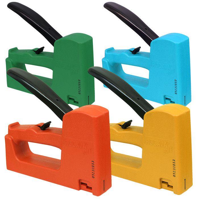 Grampeador e Pinador Manual 080/F - ROCAMA