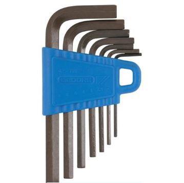 Jogo Chave Allen Curta com 9 Peças 1,5-10mm