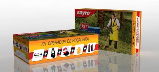 Kit de Segurança para Operador de Roçadeiras