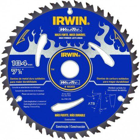 Lamina serra circular 07 1/4 x 40 dentes x 20 mm widea