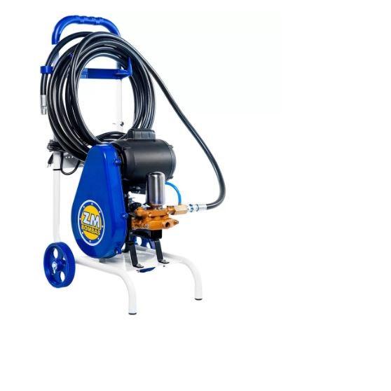 Lavadora de Alta Pressão Motor Weg 1.0CV 130 Libras para Desinfecção e Higienização de Ambientes - ZM BOMBAS-LR-14C