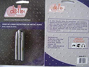 Lima Rotativa Kit 3 Peças Disflex