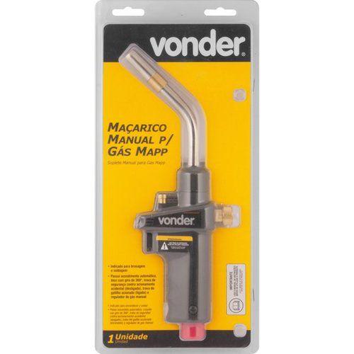 Maçarico Manual para gás Mapp Vonder