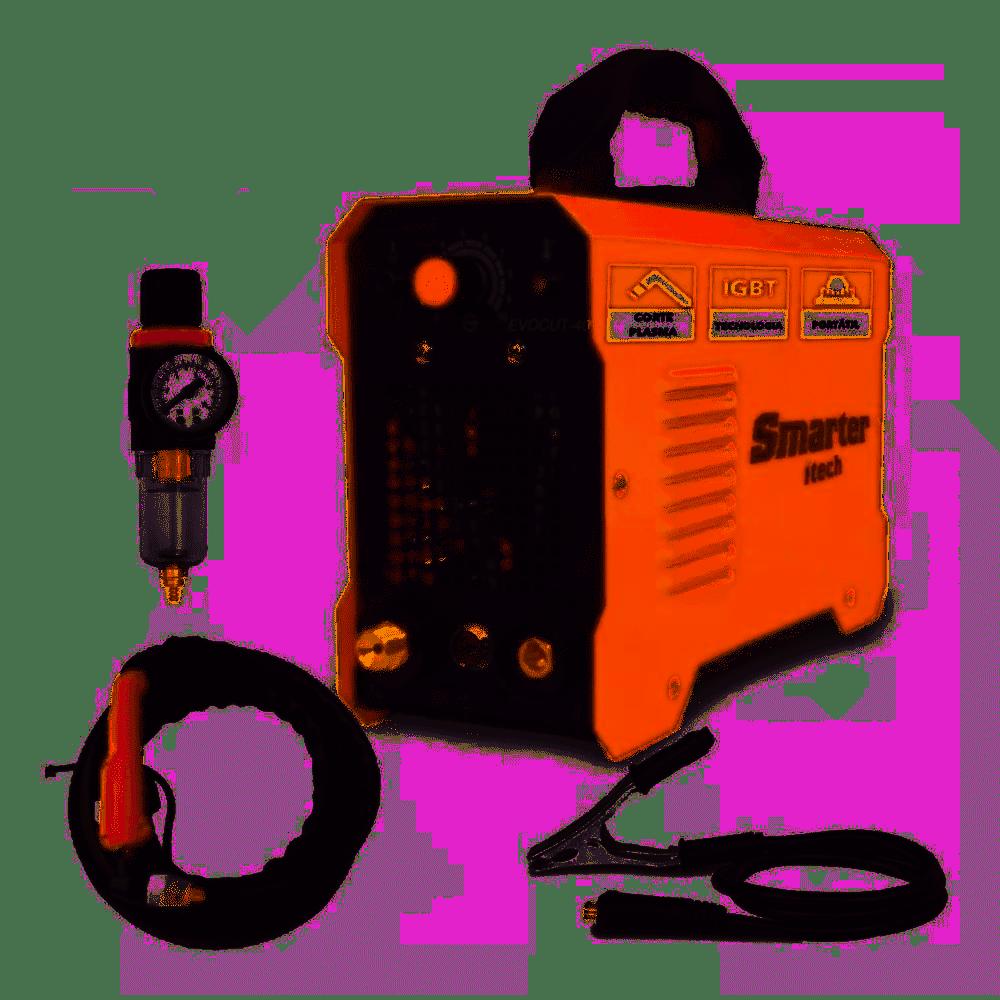 Máquina de Corte Plasma Mono 15 - 40 A 220V - SMARTER-EVOCUT-40