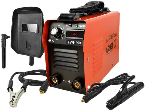 Maquina de Solda Inversora 140A Bivolt Display Digital TWI-140 - Terra