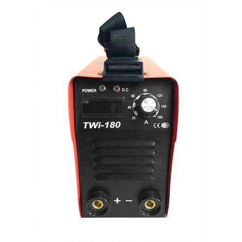 Máquina Inversora de Solda 160A Bivolt com Display Digital TWI-180 - TERRA-706704