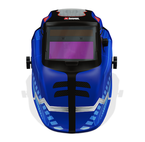 Mascara De Solda Boxer Retina 3.0 Escurecimento Automatico 9 A 13 Din