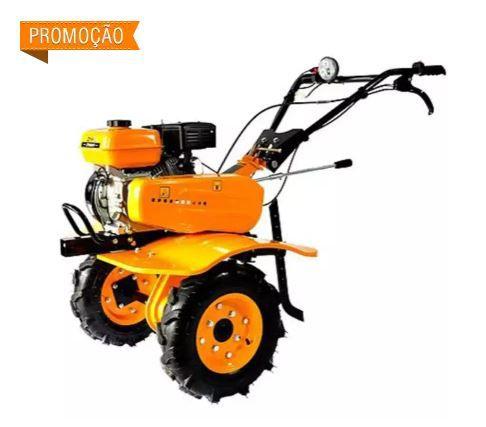 Motocultivador à Gasolina 7,0 CV com Rodas e Enxadas ZT900G4T ZMAX