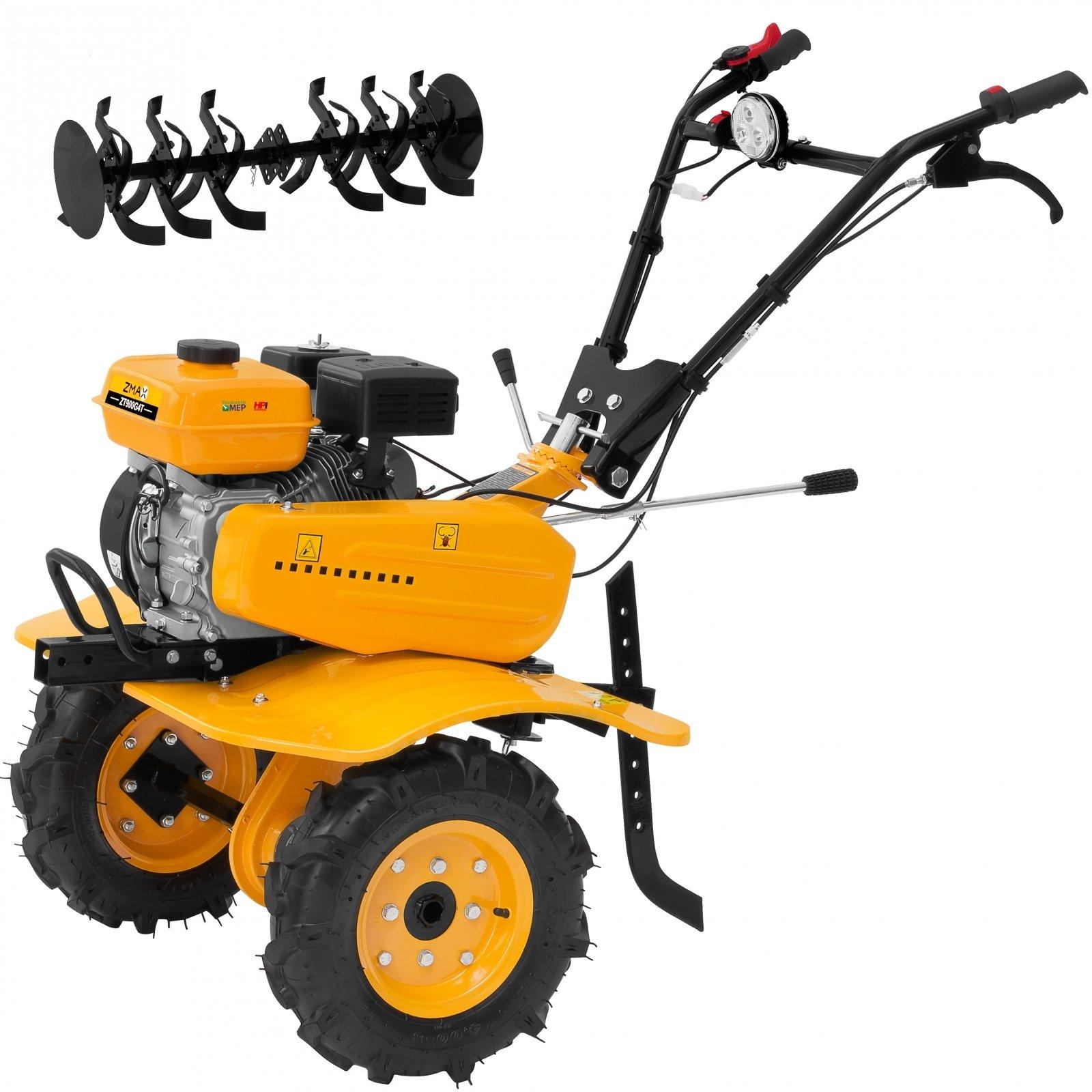 Motocultivador a gasolina partida manual  7hp  ZT900G4T- Zmax