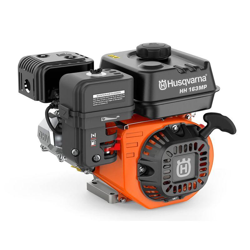 Motor a gasolina 5,5HP eixo horizontal HH163MP - Husqvarna