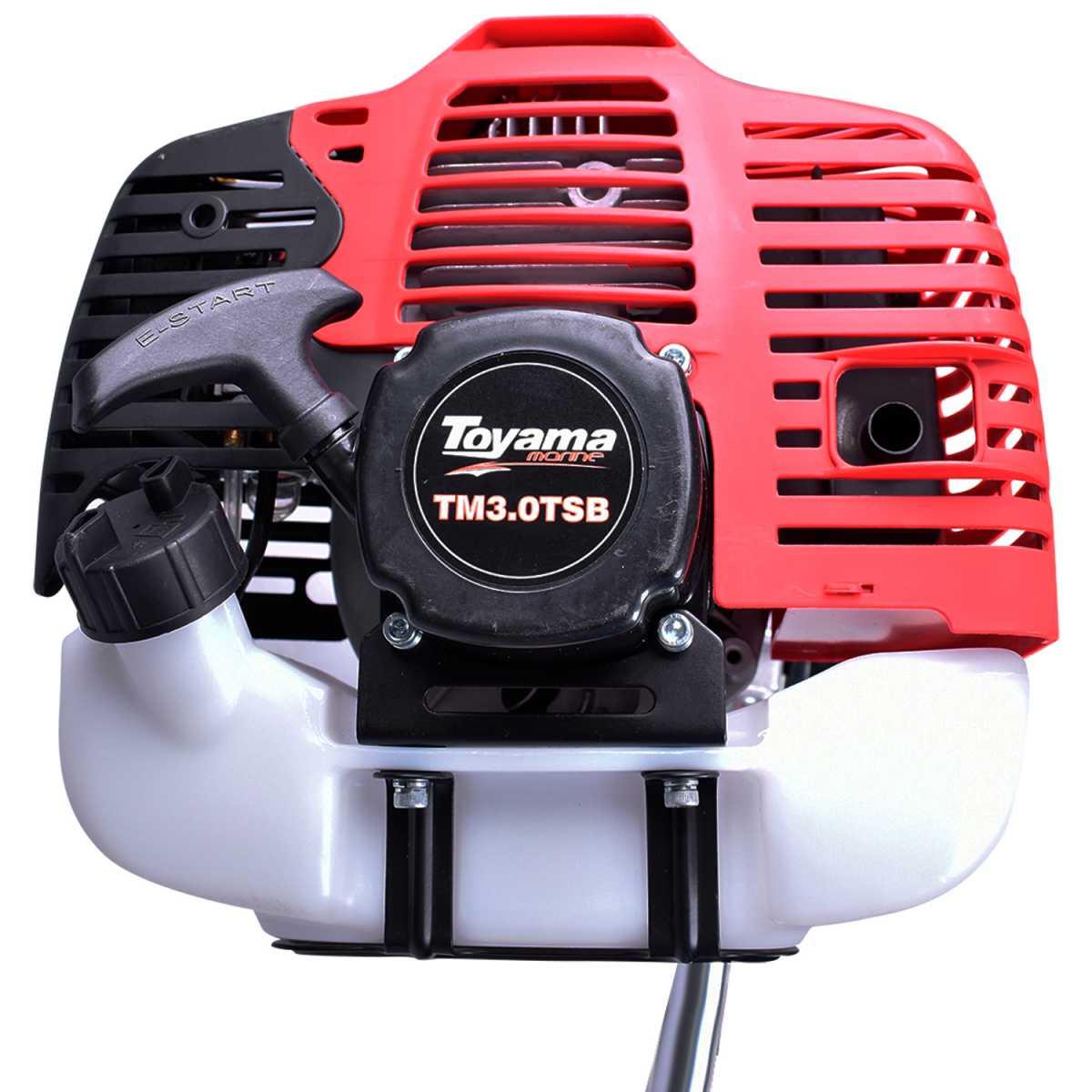 Motor De Popa Rabeta Vertical 3.0hp 60,2cc 2 Tempos Toyama