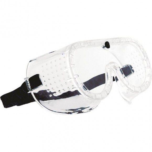 Óculos de Proteção Incolor Ampla Visão Perfurado - CARBOGRAFITE-010130710