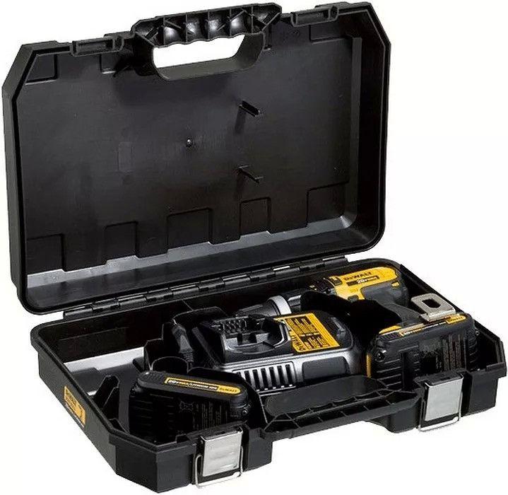 Parafusadeira e Furadeira Impacto 1/2 Pol. Bateria 20V 1,3 Ah Lítio Bivolt 2 Bat - DEWALT-DCD776C2-BR