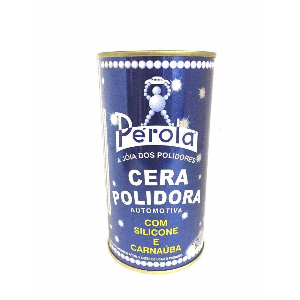 Pérola Cera Polidora Automotiva 500ml Pérola 500 Ml
