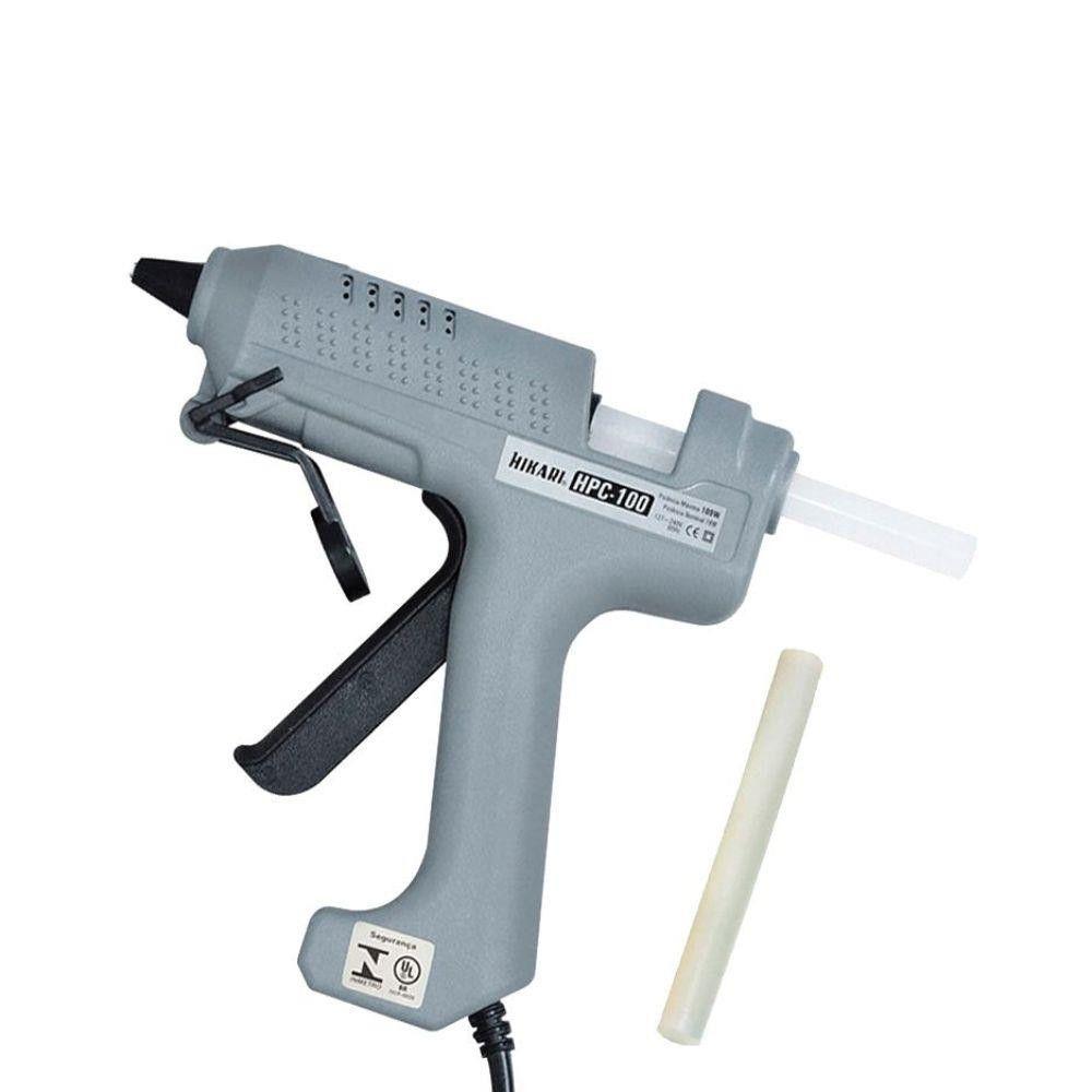 Pistola Cola Quente 100W Profissional Bivolt HPC-100 Hikari