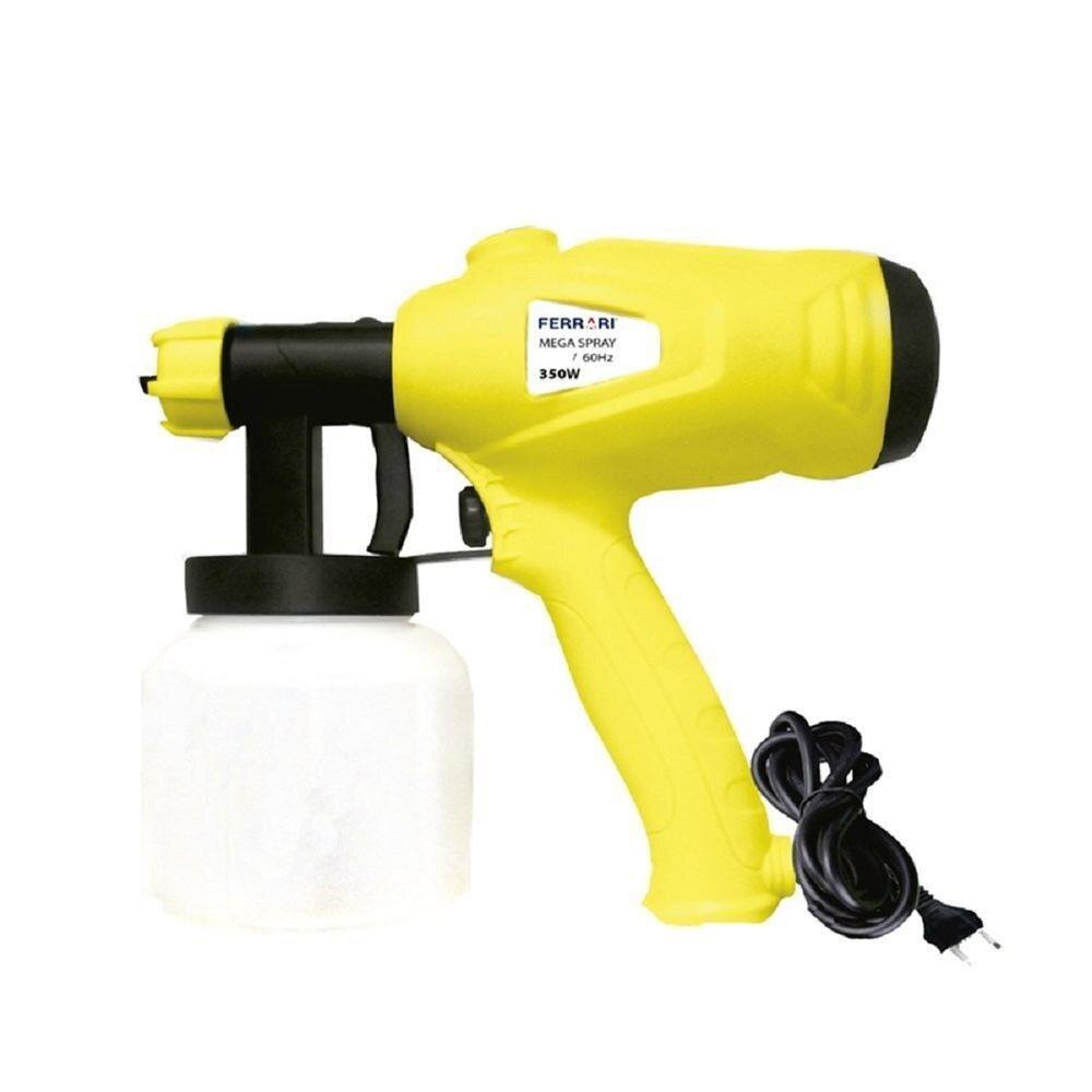 Pistola Elétrica Para Pintura Mega Spray 350W