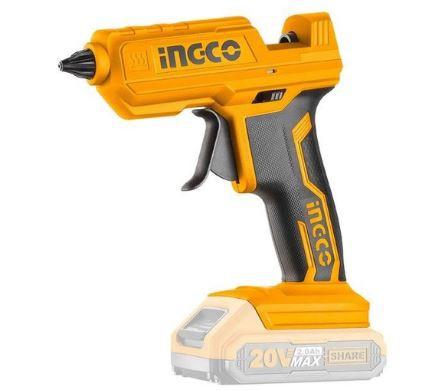 Pistola para Silicone 20V S/ Bateria e Carregador - CGGLI2001 - Ingco