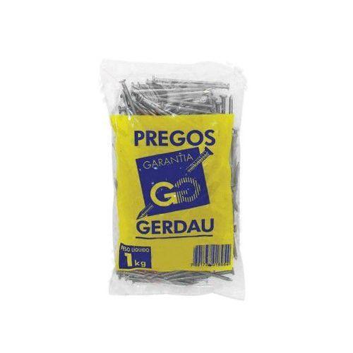 Prego C/ Cabeça Ardox 17 X 21 MM - 1 Kg - Gerdau Aços Longos
