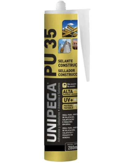 PU 35 selante de construção 400 gramas unipega