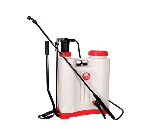 Pulverizador de plastico costal manual 20 litros - Worker