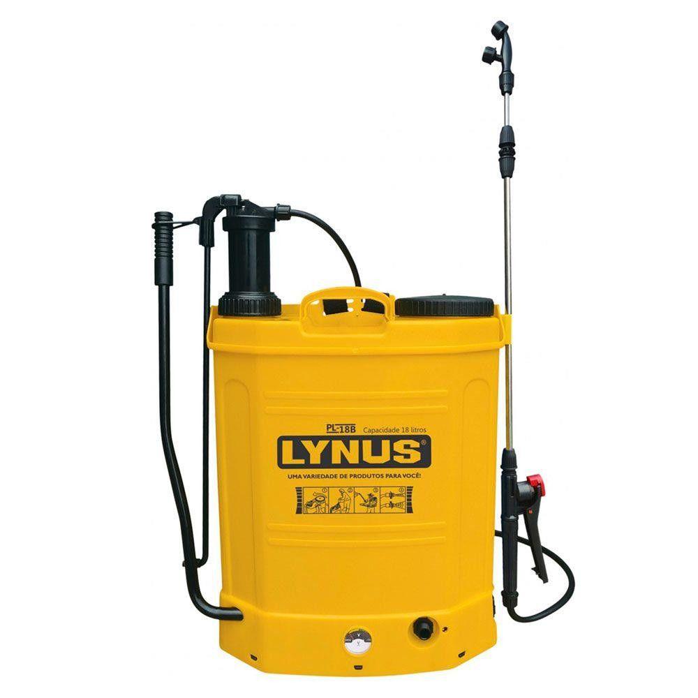 Pulverizador Manual a Bateria PL-18B 18 Litros - LYNUS-9527.5