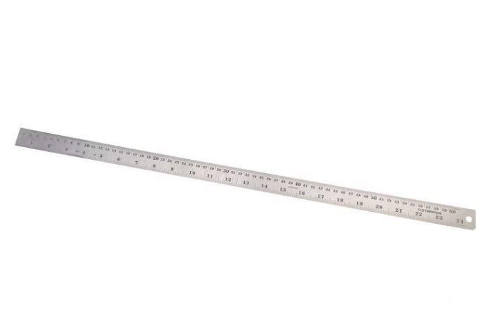 Régua Aço Inoxidável 60 cm  Starfer