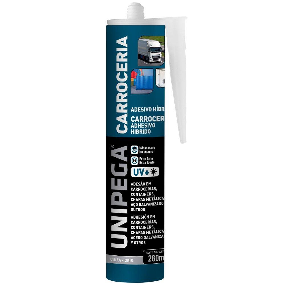 Selante Poliuretano para chapas metálicas na cor cinza - UNIPEGA