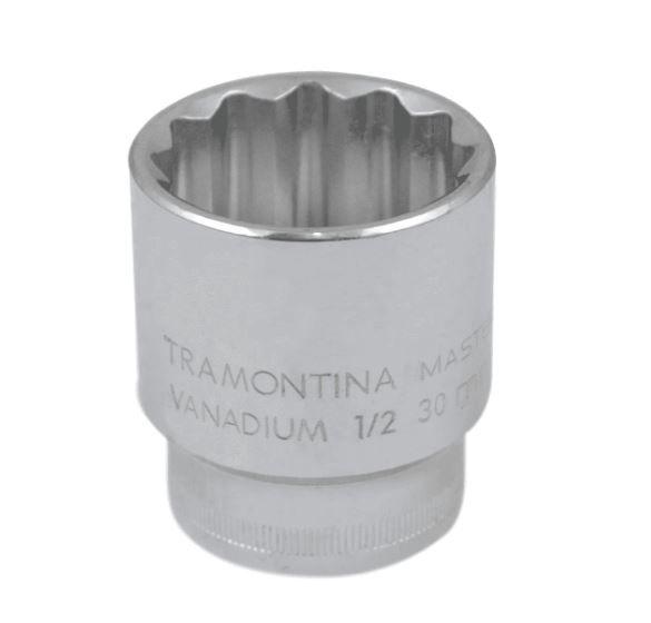 Soquete Estriado Tramontina 1/2 X 30 MM CURTO