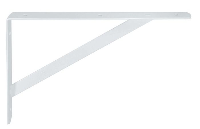 Suporte Mão Francesa reforçada 45 cm Branca