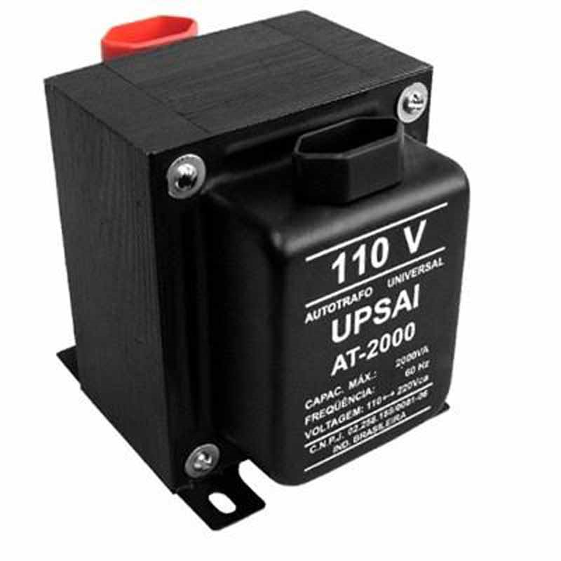 Transformador de Voltagem 2000VA - UPSAI